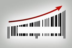 Success sules growing revenue stock image