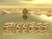 Success - sunrise Royalty Free Stock Photography