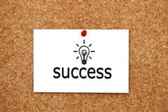 Success symbol Stock Photography