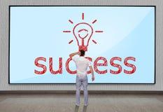 Success symbol Royalty Free Stock Photo