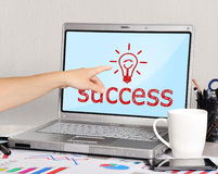 Success symbol Royalty Free Stock Photos