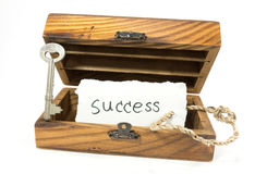 Success tag in box Royalty Free Stock Image