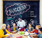 Success Talent Vision Strategy Goals Concept Stock Photo