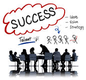 Success Talent Vision Strategy Goals Concept Royalty Free Stock Images