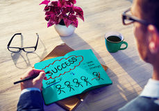 Success Talent Vision Strategy Goals Concept.  royalty free stock images
