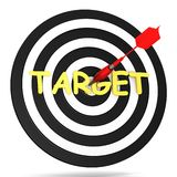 Success target Stock Photos