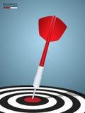 Success target. Dart target success business concept. Stock Photo