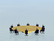 The success team in conference. Stock Images