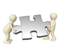 Success of teamwork Stock Images