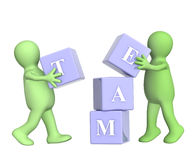 Success of teamwork Stock Photo