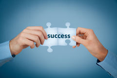 Success is teamwork Royalty Free Stock Photo