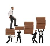 Success of teamwork Royalty Free Stock Images