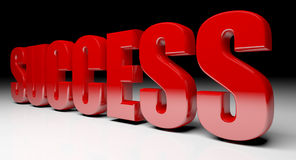 Success text background Royalty Free Stock Images