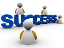 Success text Stock Photography