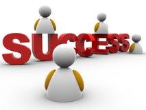 Success text Royalty Free Stock Photos