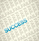 Success theme Royalty Free Stock Images
