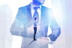 Success and tomorrow concept Stock Photography