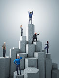 Success tower Stock Image