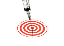 Success Treatment Concept (isolated) Close Up Royalty Free Stock Photo
