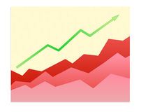 Success trend Stock Image
