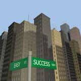 Success Way Stock Image