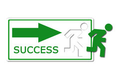 Success way icon Royalty Free Stock Photos