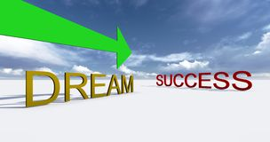 Success this way Stock Images