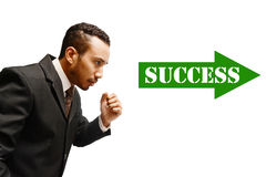 on success way Royalty Free Stock Images