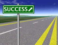 Success way Royalty Free Stock Photo