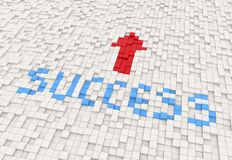 Success way Stock Photo