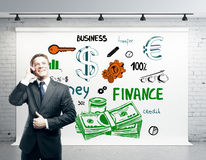 Success and wealth concept Royalty Free Stock Photos