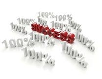 Success 100% Stock Photos