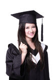 Success Woman graduate student Stock Photos