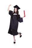 Success Woman graduate student Stock Photography