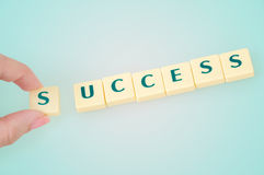 Success word Stock Photography