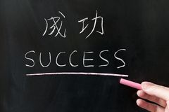 Success word Royalty Free Stock Image