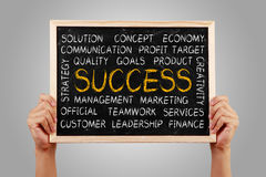 Success Word Cloud Stock Images