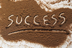 Success word Stock Image