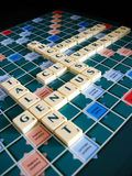 Success words. The words for success (scrabble Royalty Free Stock Photos