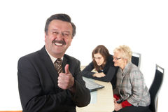 Success at work Stock Photography
