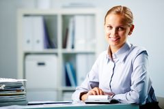 Successful accountant Royalty Free Stock Photo