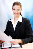 Successful adult  businesswoman Stock Photo