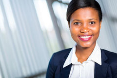 Successful african businesswoman Stock Photo