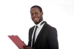 Successful African entrepreneur Stock Photos