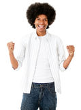 Successful afro man Royalty Free Stock Photos