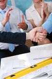 Successful agreement Royalty Free Stock Photo