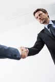 Successful agreement Stock Images