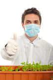 Successful agricultural scientist man Stock Photo