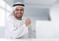 Successful arabian businessman / executive Stock Photography