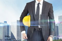 Successful architect Royalty Free Stock Image